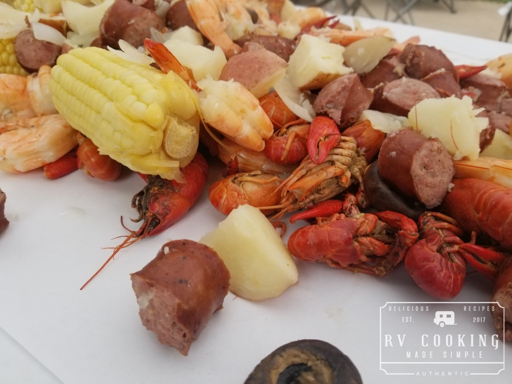 Low Country Shrimp And Crawfish Boil Rv Cooking Made Simple